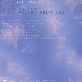 Wild Bill Ricketts / Gil Valley back