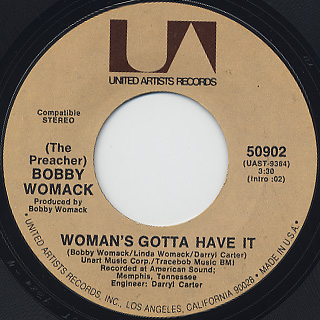 Bobby Womack / (If You Don't Want My Love) Give It Back back