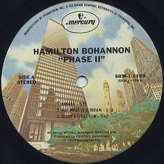 Bohannon / Phase II label