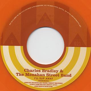 Charles Bradley & The Menahan Street Band / I'll Slip Away back