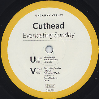 Cuthead / Everlasting Sunday label