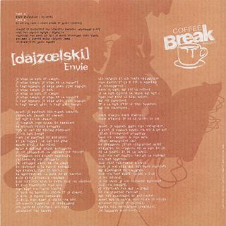 Dajzoelski / Envie back