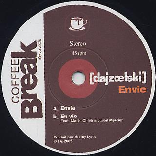 Dajzoelski / Envie label
