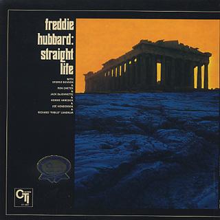 Freddie Hubbard / Straight Life back