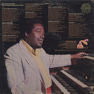 Groove Holmes / I'm In The Mood For Love back