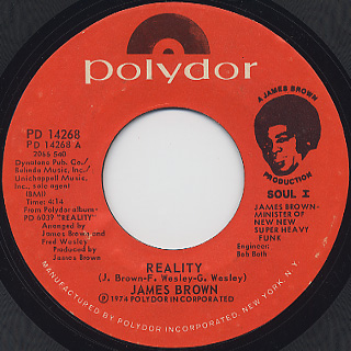 James Brown / Reality (7
