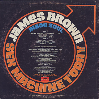 James Brown / Sex Machine Today back