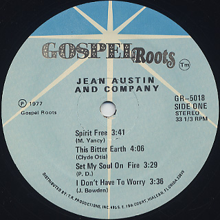Jean Austin And Company / S.T. label