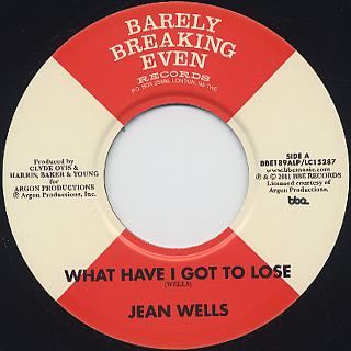 Jean Wells / Soul On Soul (3x7