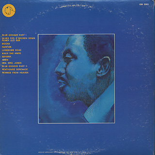 Jimmy McGriff / Black And Blues back
