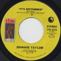 Johnnie Taylor / It's September