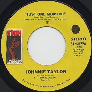Johnnie Taylor / It's September back