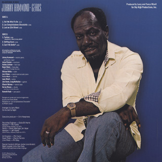 Johnny Hammond / Gears (Re) back