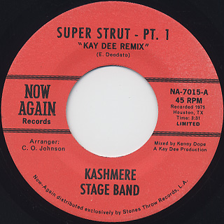 Kashmere Stage Band / Super Strut