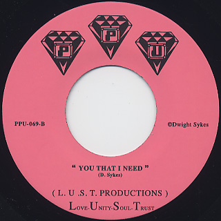 L.U.S.T. Productions / If You Want My Love back