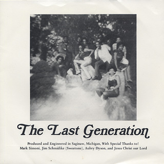 Last Generation / You're All I Need