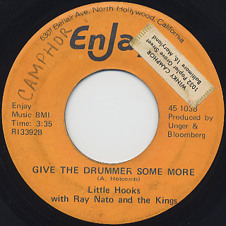 Little Hooks with Ray Nato and The King / Give The Drummer Some More