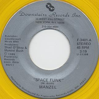Manzel / Space Funk c/w Jump Street