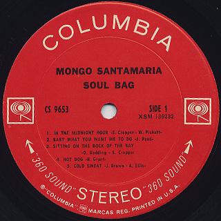 Mongo Santamaria / Soul Bag label