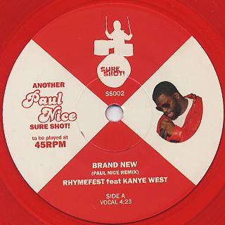 Rhymefest feat. Kanye West / Brand New
