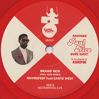 Rhymefest feat. Kanye West / Brand New back