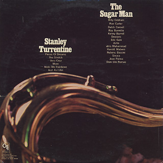 Stanley Turrentine / The Sugar Man back