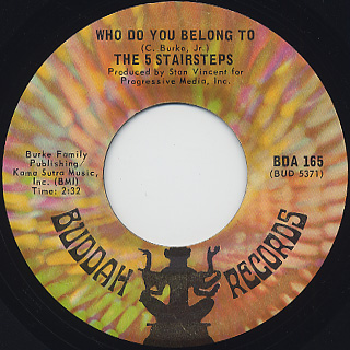 5 Stairsteps / O-o-h Child c/w Who Do Belong To back