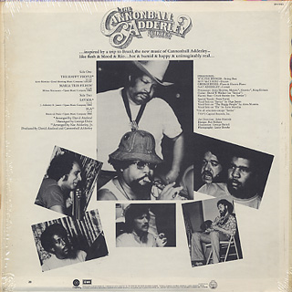 Cannonball Adderley Quintet / The Happy People back