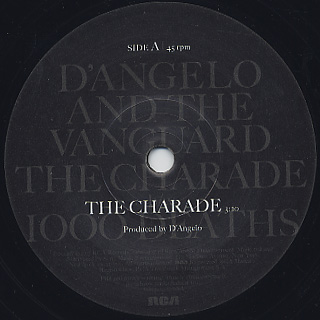 D'Angelo And The Vanguard / The Charade label