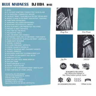 DJ Iida / Blue Madness back