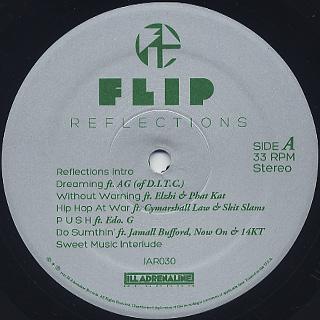 Flip / Reflections label