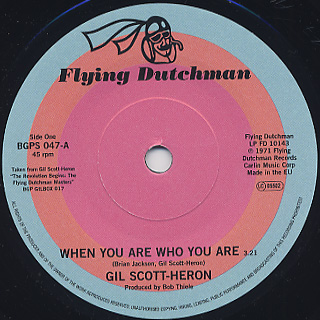 Gil Scott-Heron / When You Are Who You Are