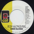 Gwen McCrae / All This Love That I'm Givin'