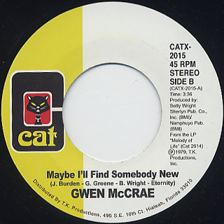 Gwen McCrae / All This Love That I'm Givin' back