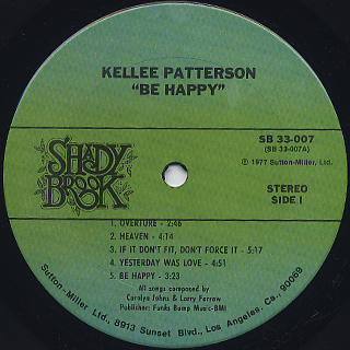 Kellee Patterson / Turn On The Light label