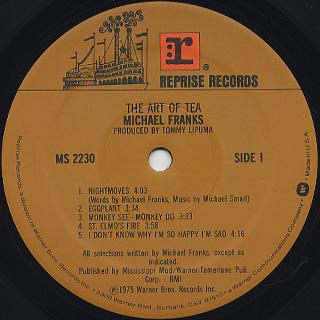 Michael Franks / The Art Of Tea label
