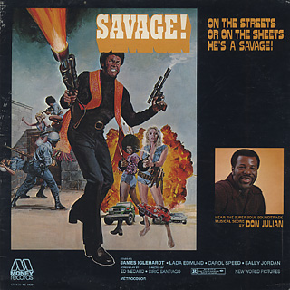 O.S.T.(Don Julian) / Savage! front