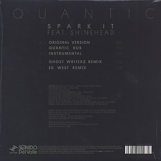 Quantic / Spark It back