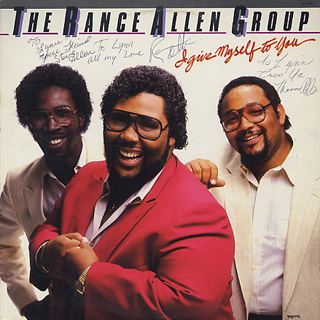 Rance Allen Group / I Give Myself To You front
