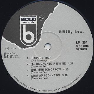 Reid, inc. / S.T. label