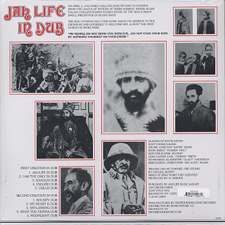 Scientis / Jah Life In Dub back