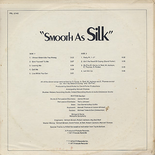 Silk / Smooth As Silk back