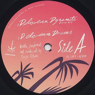 Todd Terje / Delorean Dynamite label