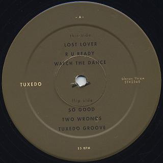 Tuxedo / S.T. label