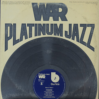 War / Platinum Jazz back