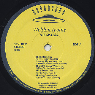 Weldon Irvine / The Sisters label