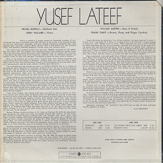 Yusef Lateef / At Cranbrook And Elsewhere back