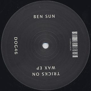 Ben Sun / Tricks On Wax EP back