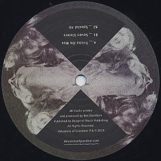 Ben Sun / Tricks On Wax EP label