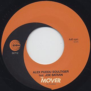 Alex Puddu feat. Joe Bataan / The Mover back